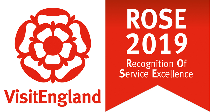 Visit England Rose Award.